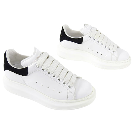 Alexander McQueen White Platform Chunky Sneakers - 36