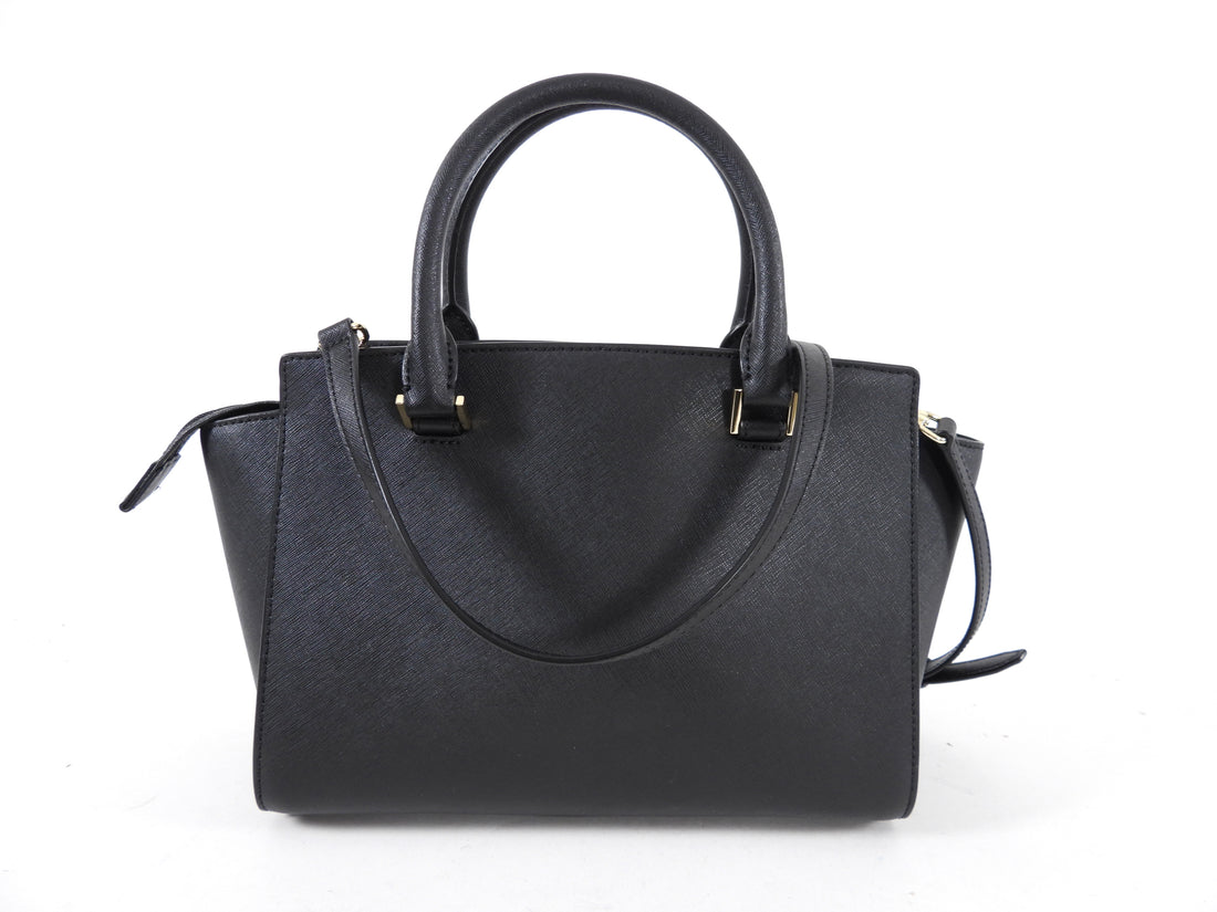 Michael Kors Black Two-Way Satchel Bag