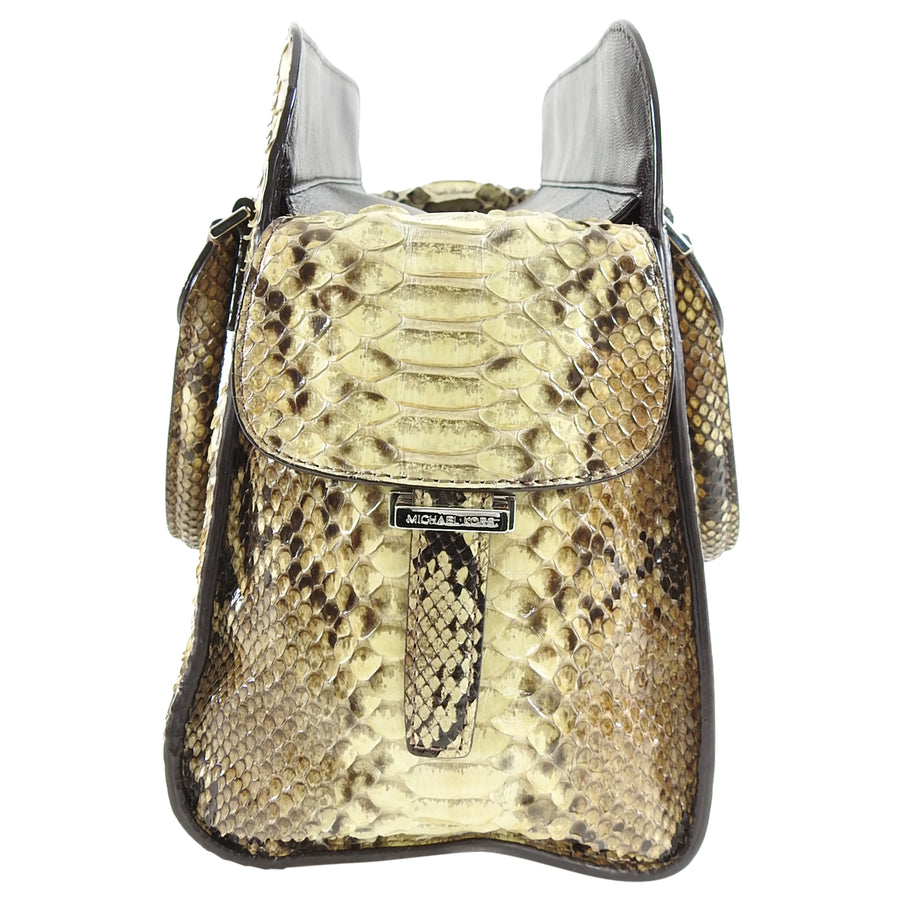 Michael Kors Genuine Python Snakeskin Tote Bag