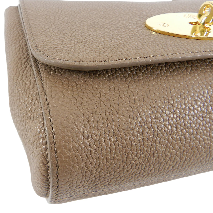 Mulberry Beige Small Lily Crossbody Bag
