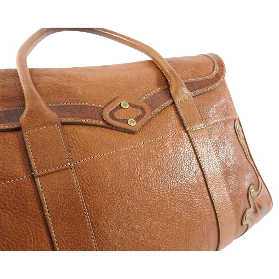 Mulberry Brown Leather Bayswater Classic Tote Bag