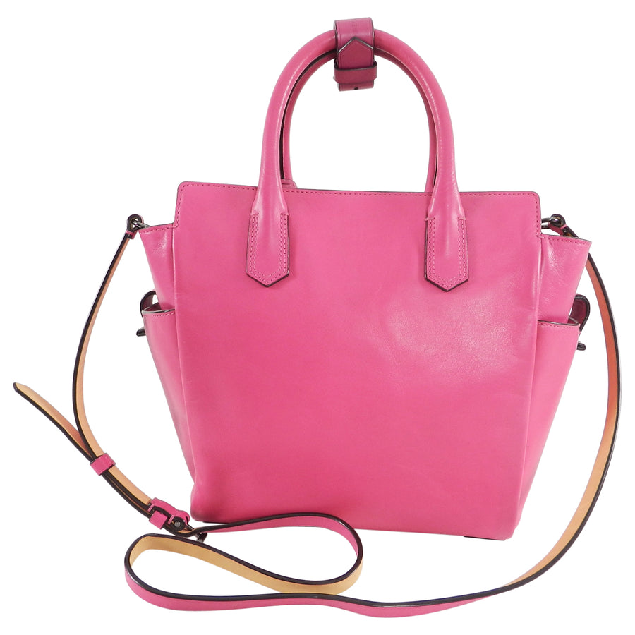Reed Krakoff Hot Fuchsia Pink Mini Atlantique Crossbody Bag