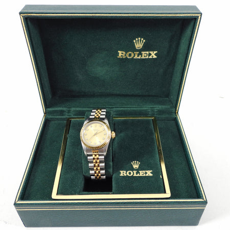 Rolex Vintage Ladies Oyster Perpetual Jubilee Diamond Watch