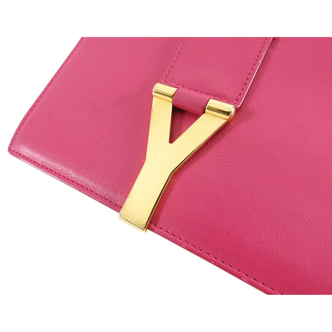 YSL Saint Laurent Pink Mini Sac Y Ligne Crossbody Bag