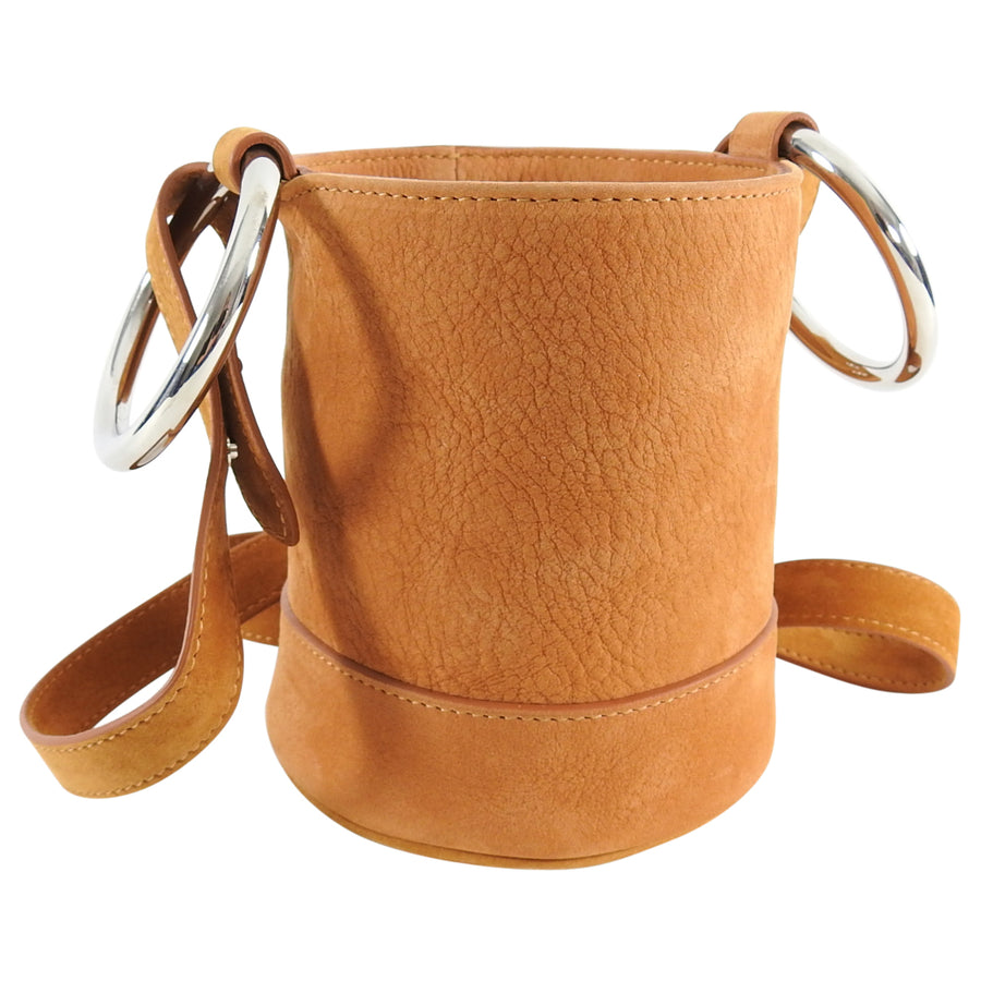 Simon Miller Tan Suede Nubuck Bonsai 15 Mini Bag