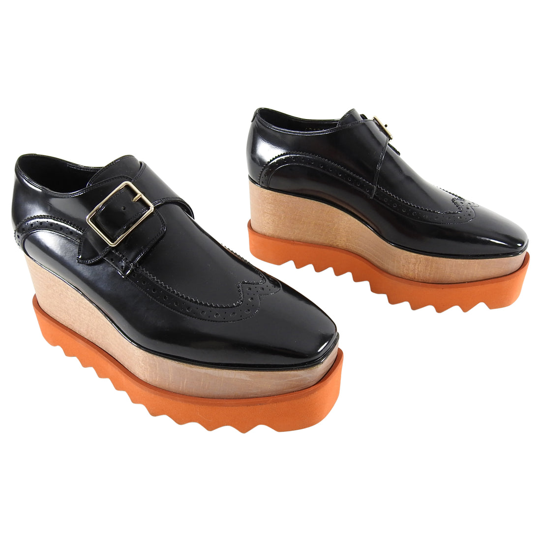 Stella McCartney Dana Platform Oxford Brogues - 6.5