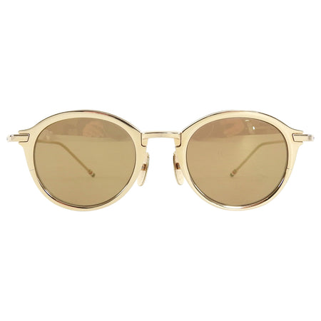 Thom Browne Gold Metal Sunglasses TB 110