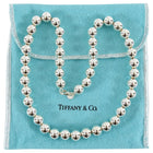Tiffany and Co Sterling Silver Hardwear Ball Necklace