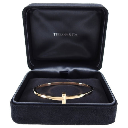 Tiffany 2020 18k Rose Gold T1 Narrow Bracelet