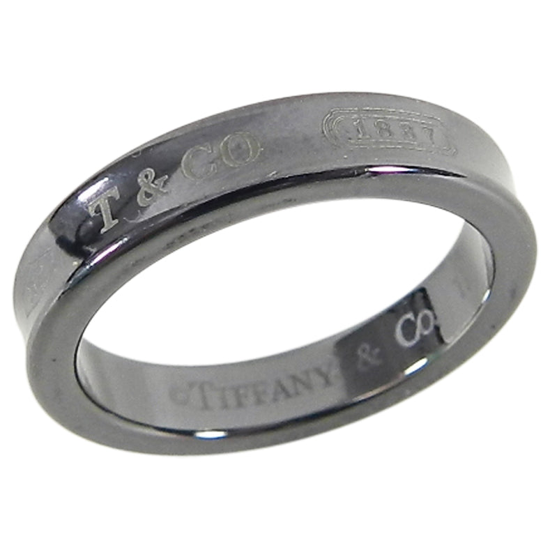 Tiffany and Co.  Narrow Titanium Band Ring