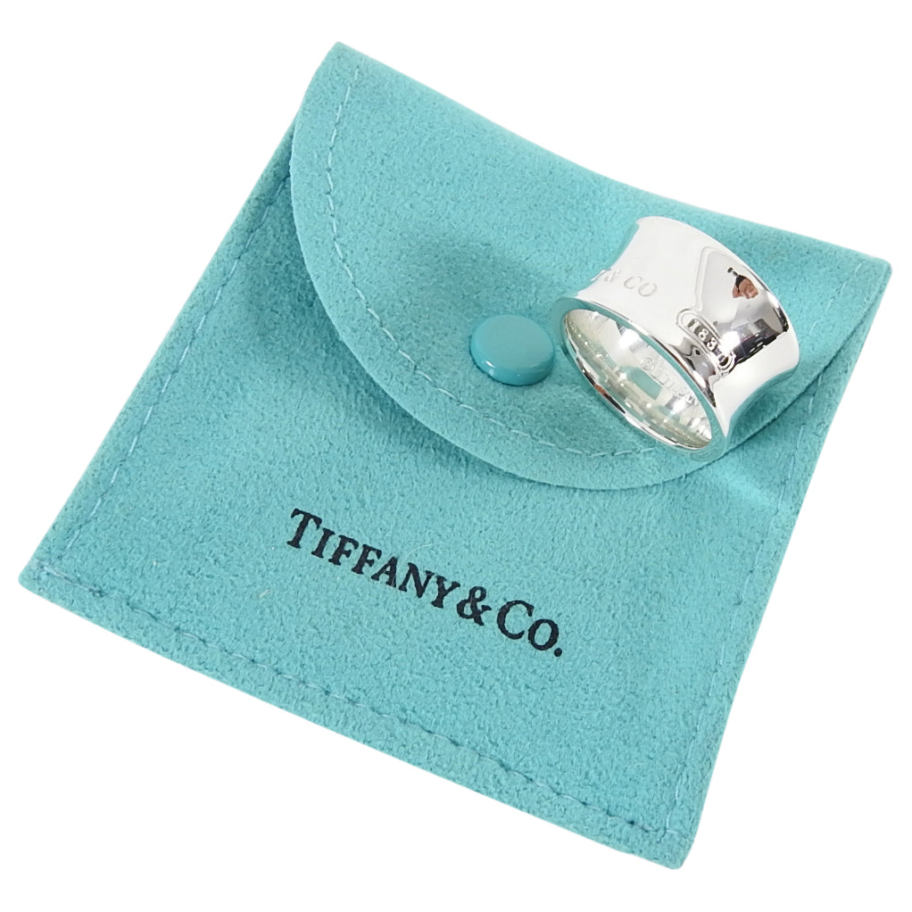 Tiffany and Co.  Sterling Silver 1837 Wide Ring - 7