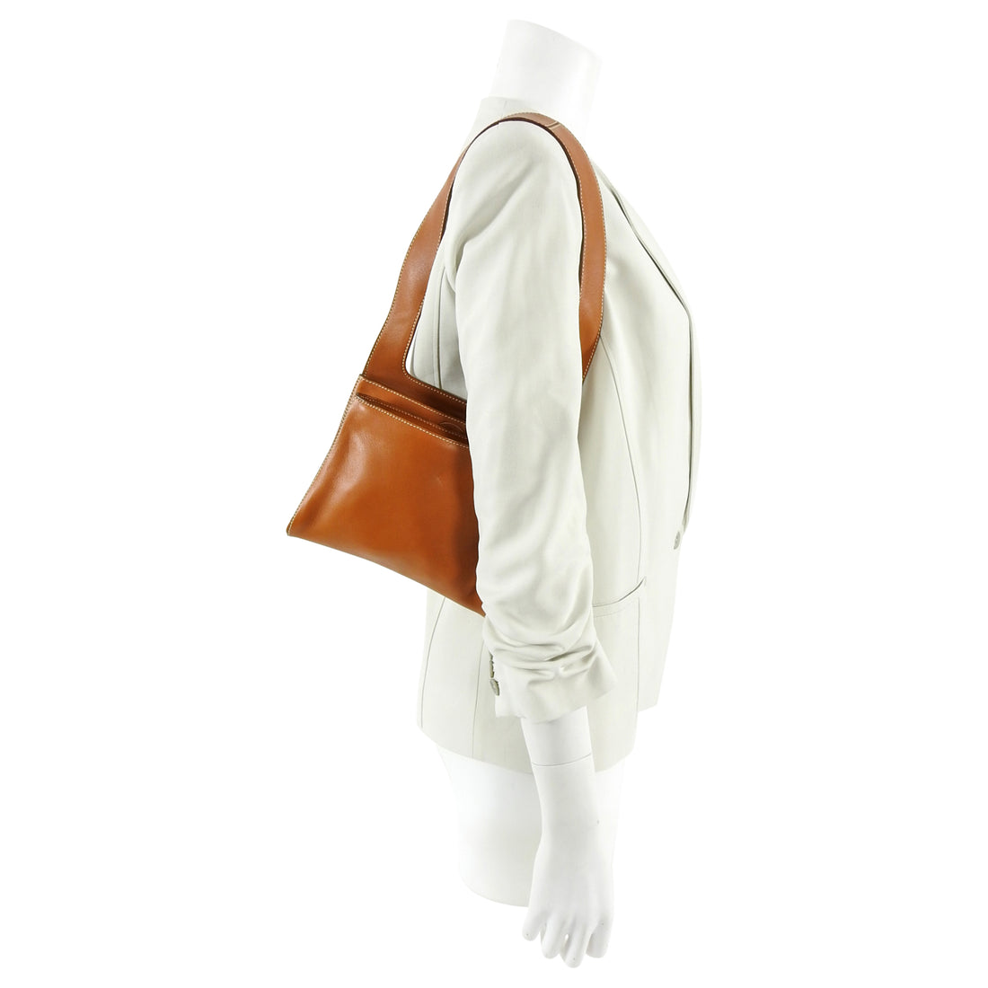 Tods Tan Small Leather Shoulder Bag