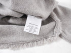 White + Warren Light Grey Cashmere Sweater - S