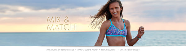 TYR swimwear, bikini, swim, mix & match