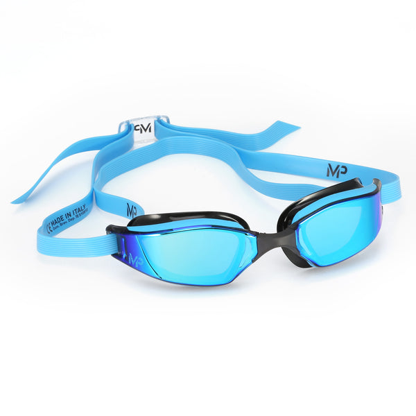 XCEED TITANIUM MIRROR GOGGLE BLUE/BLACK