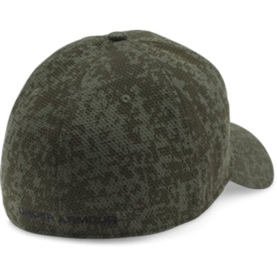 PRINTED BLITZING STRETCH FIT CAP - GREEN