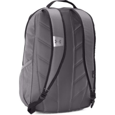 UA HUSTLE LDWR BACKPACK SILVER