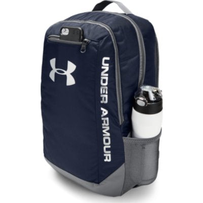 UA HUSTLE LDWR BACKPACK NAVY