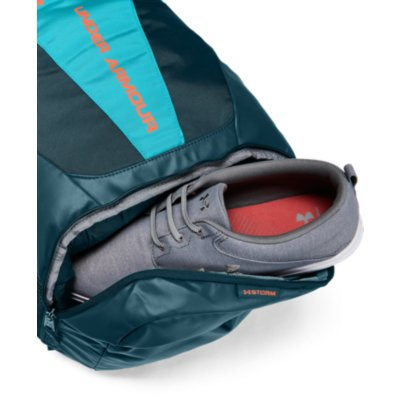 UA HUSTLE 3.0 BACKPACK DECEIT TEAL