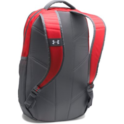 UA HUSTLE 3.0 BACKPACK RED