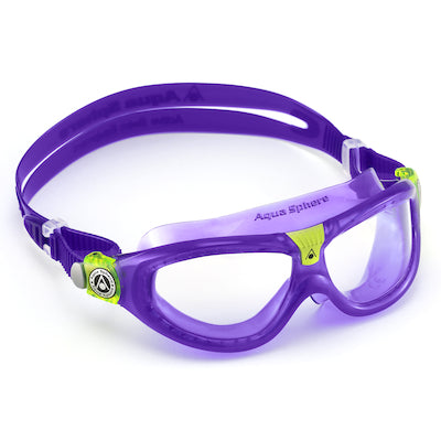 SEAL KID 2 GOGGLE VIOLET/CLEAR