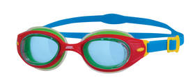 L SONIC AIR GOGGLE - RED/BLUE/TINT