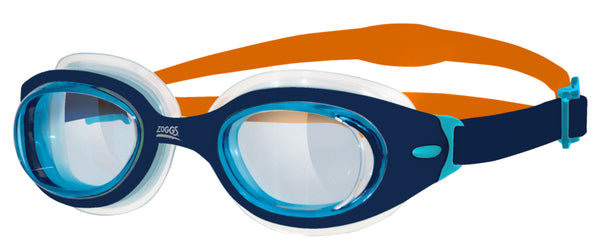 J SONIC AIR GOGGLE - BLUE/ORANGE/CLEAR