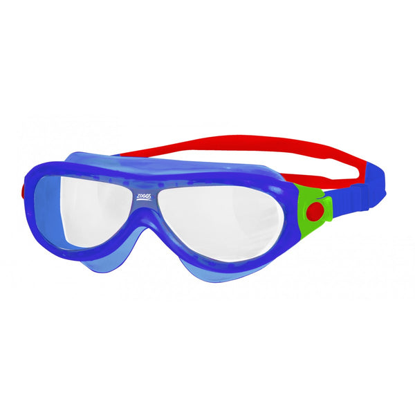 KIDS PHANTOM MASK - BLUE/RED/CLEAR