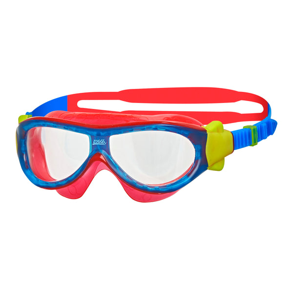K PHANTOM MASK - BLUE/RED/CLEAR