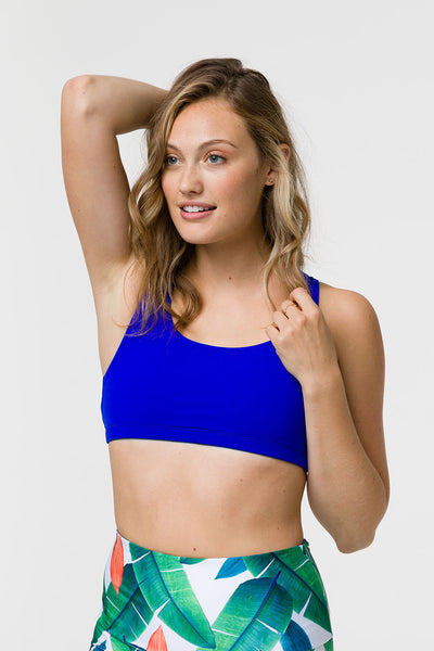 3098 MUDRA BRA - ROYAL BLUE