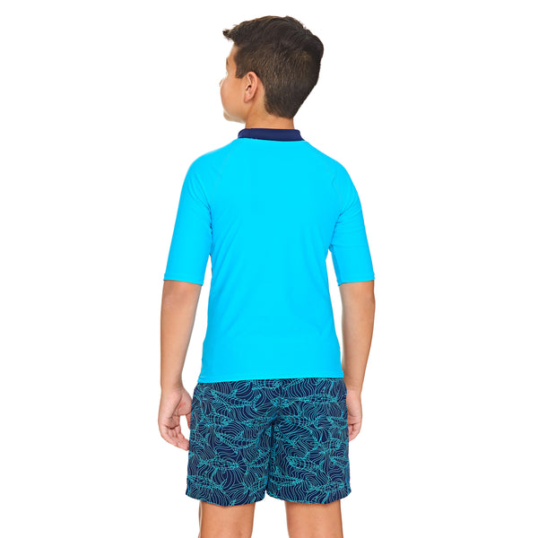 BOYS SHORT SLEEVE SUN TOP