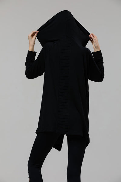 627 WRAP JACKET BLACK