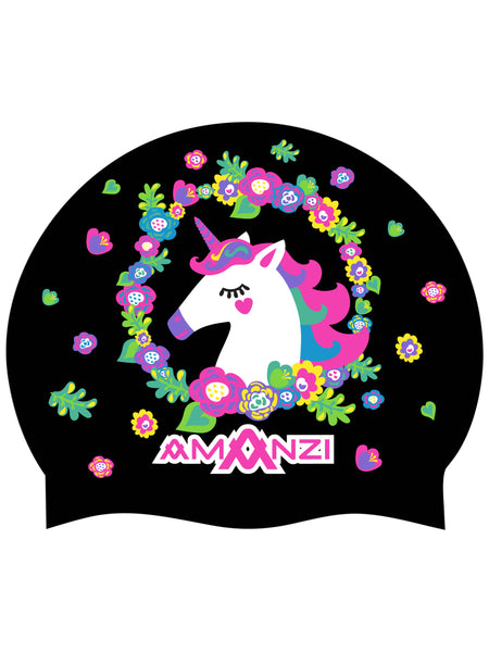 UNICORN DREAMS SWIM CAP