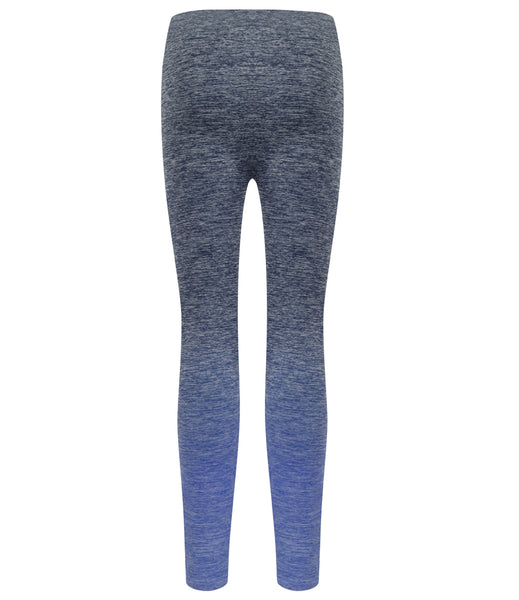 OMBRE SEAMLESS LEGGINGS - NAVY