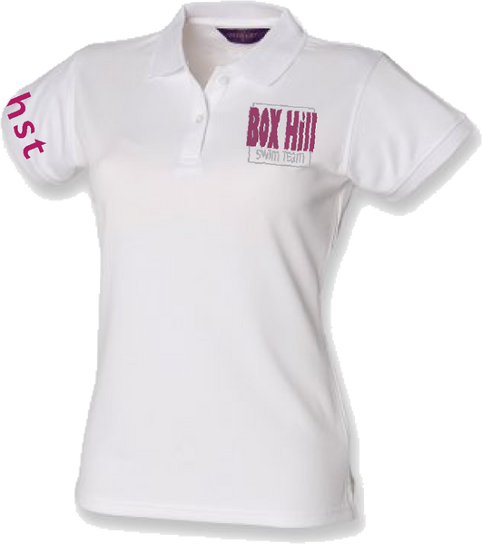 BOX HILL SWIM TEAM SUPPORTERS POLO (FEMALE FIT)