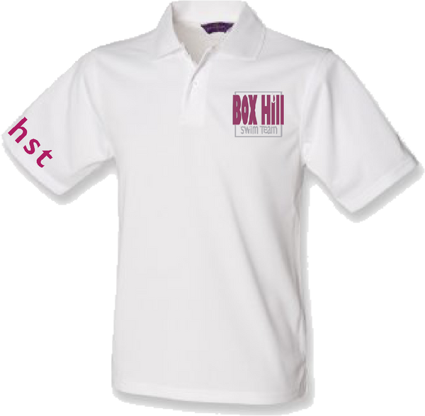 BOX HILL SWIM TEAM SUPPORTERS POLO (MALE FIT)