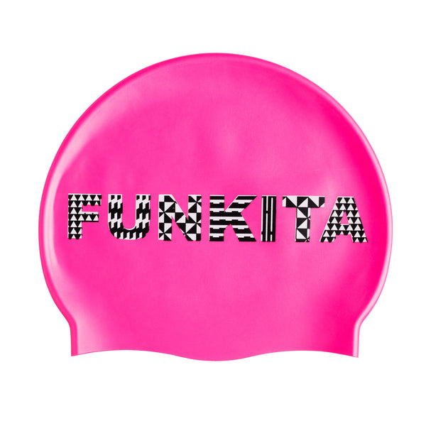 WILD FIRE SWIM CAP