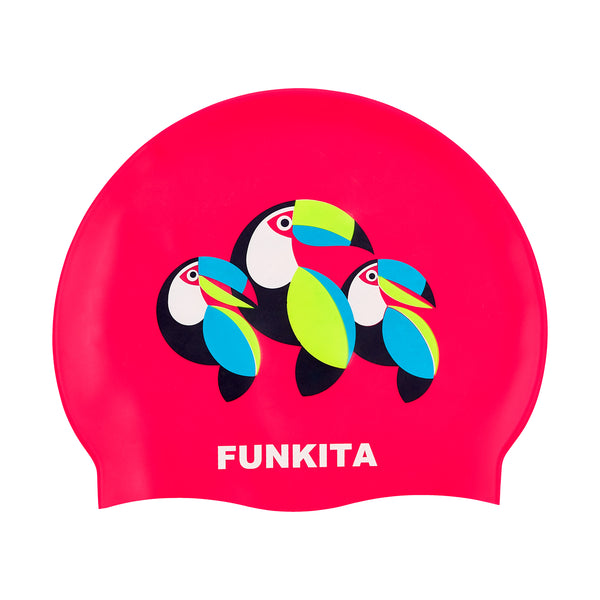 CAN FLY SWIM CAP
