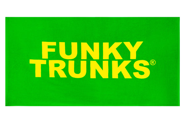 FUNKY TRUNKS TOWEL GREEN
