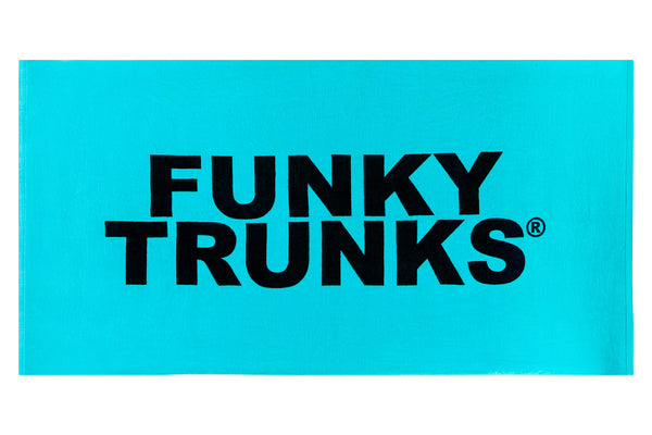 FUNKY TRUNKS TOWEL BLUE