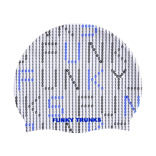BINARY BRO SWIM CAP