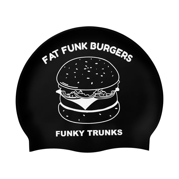 FAT FUNK SILICONE SWIMMING CAP