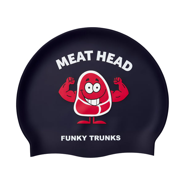 MEAT HEAD SILICONE SWIMMING CAP
