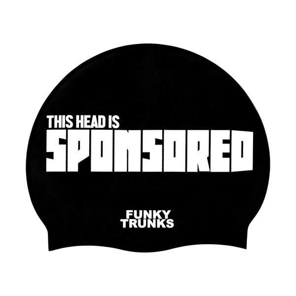 SPONSORED HEAD SWIM CAP