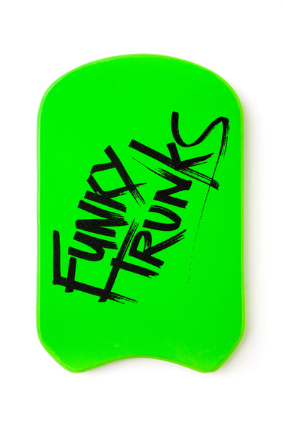 FUNKY TRUNKS KICKBOARD - GREEN