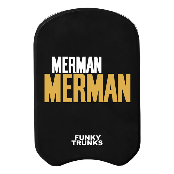 GOLDEN MERMAN KICKBOARD