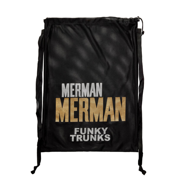 GOLDEN MERMAN MESH GEAR BAG