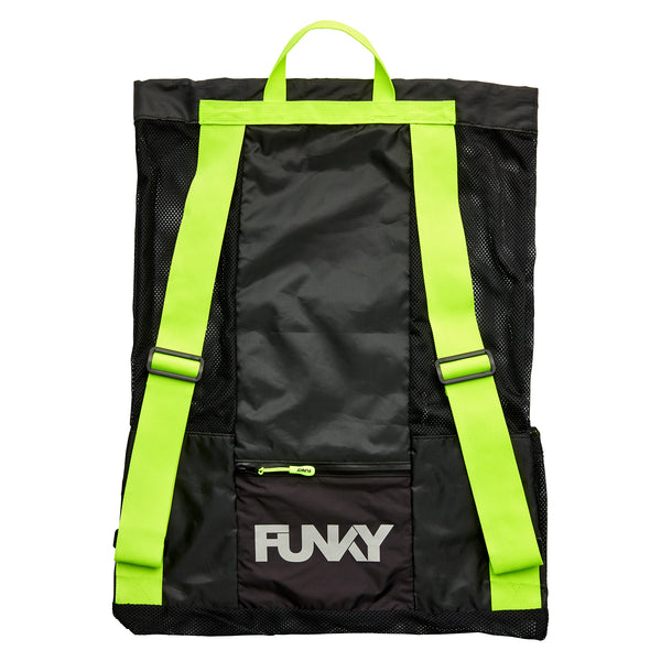 NIGHT LIGHTS GEAR UP MESH BACKPACK
