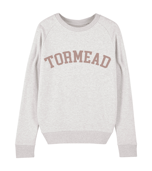 ICONIC BOLD SWEATSHIRT - CREAM