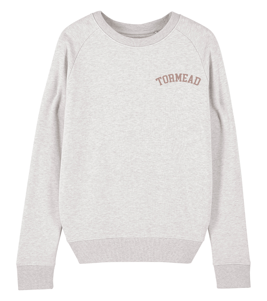 ICONIC CREST SWEATSHIRT - CREAM